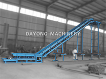 Large Angle Apron Belt Conveyor