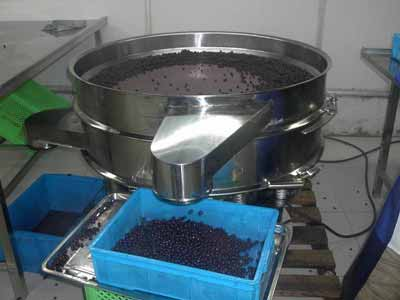 pepper vibration sieving machine