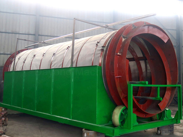 roller vibrating screen