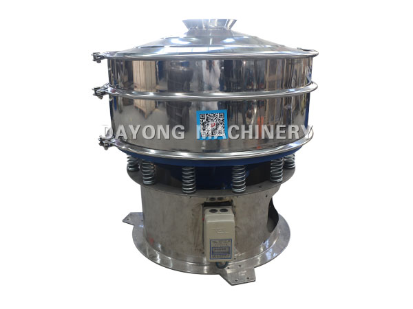 resin powder vibrating screening machine