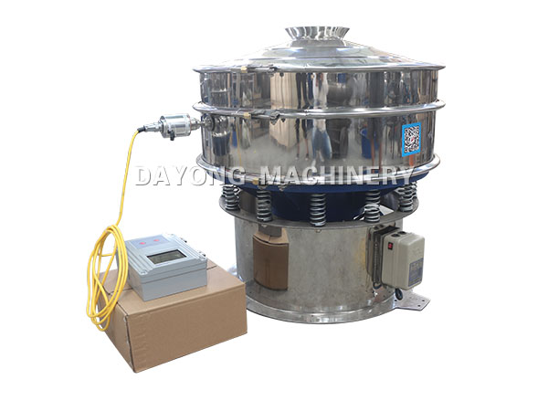 resin powder vibrating screening