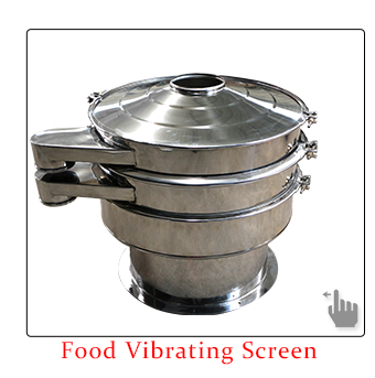 food vibrating screen